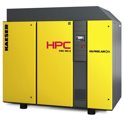 Oil Free Rotary Screw Compressors (Dry Screw)