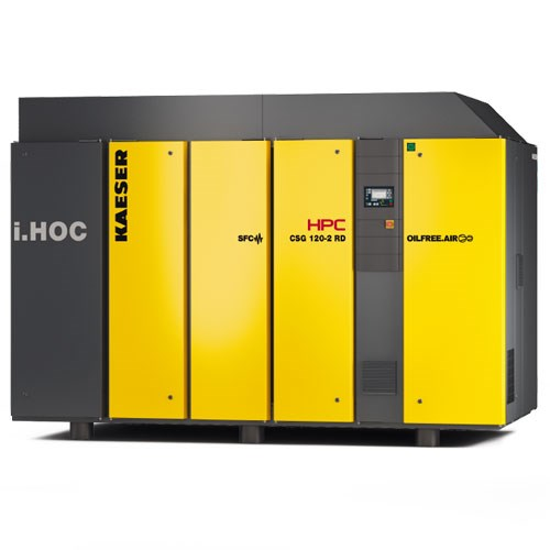 Oil Free Compressors with Integrated i.HOC Compressed Air Dryer - 37 to 200kW
