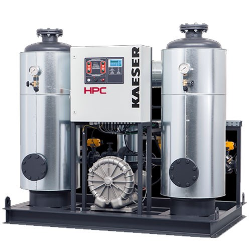 Heat-regenerating Desiccant Dryers - 17.6 to 194.2 m³/min