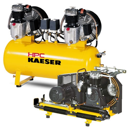 Oil-lubricated Industrial Compressors - 60 to 1400 l/min