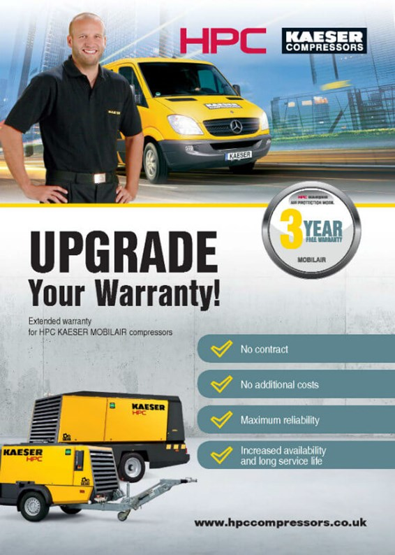 Air Protection MOBIL - 3 Year Portables Warranty Upgrade Leaflet