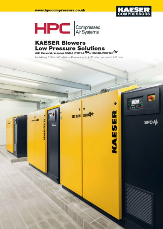 Blowers - Low Pressure Solutions Brochure