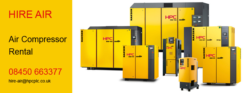 HPC HIRE AIR - Air Compressor Rental
