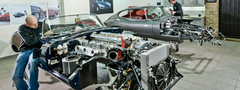 Eagle E-Type Jaguars restored with HPC