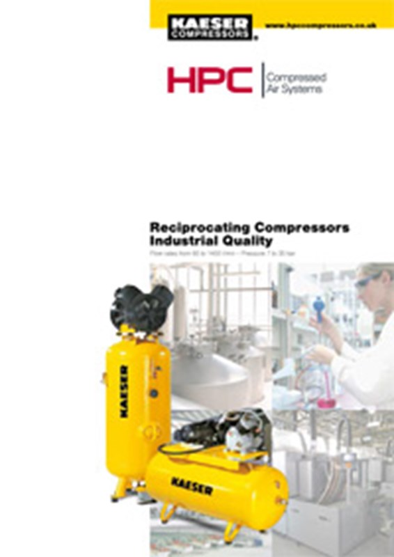 Industrial Quality Reciprocating Compressors