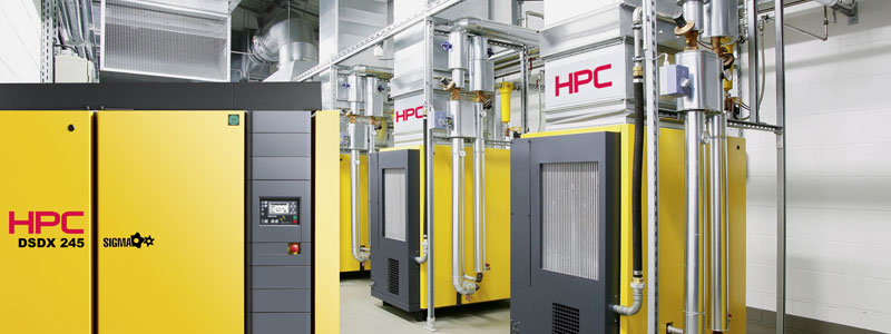 Heat Recovery - Save up to 96% Energy | HPC Compressors