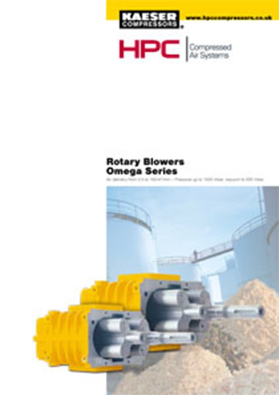 OMEGA Series - Rotary Blowers