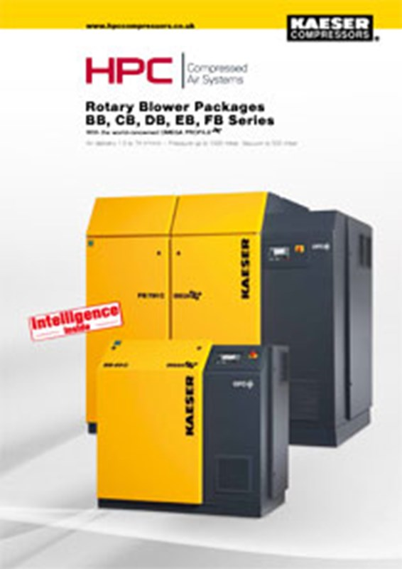 BB-FB Series - Rotary Blower Packages