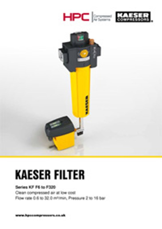 KF-Series Compressed Air Filters (F6 to F320)