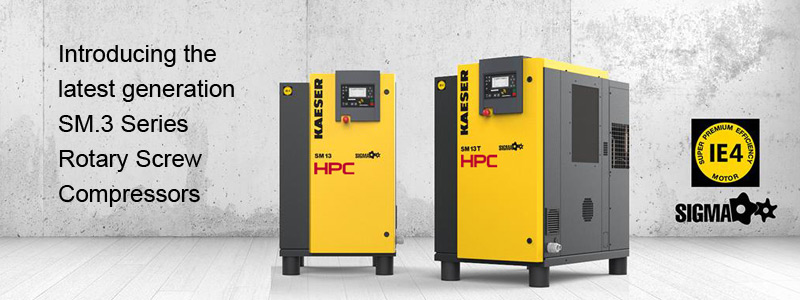 Latest generation SM.3 Series Rotary Screw Compressors