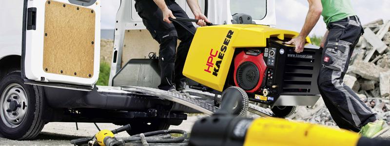 MOBILAIR Compressors up to 1 2 m³/min (42 cfm) | HPC Compressors