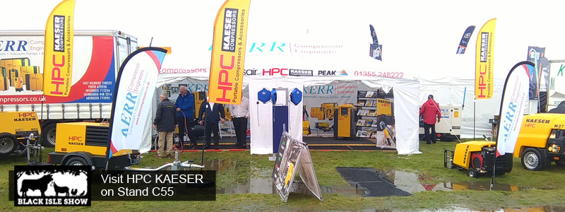 HPC KAESER & Kerr at the Black Isle Show