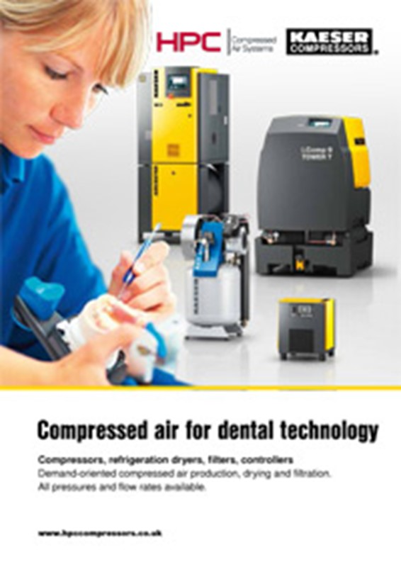 Compressed Air for Dental Technology