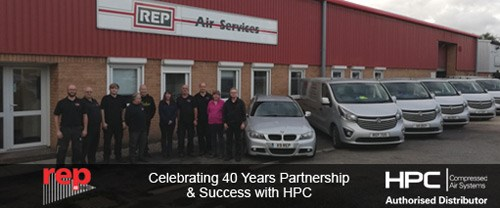 R.E.P. Air Services - 40 Years Partnership with HPC