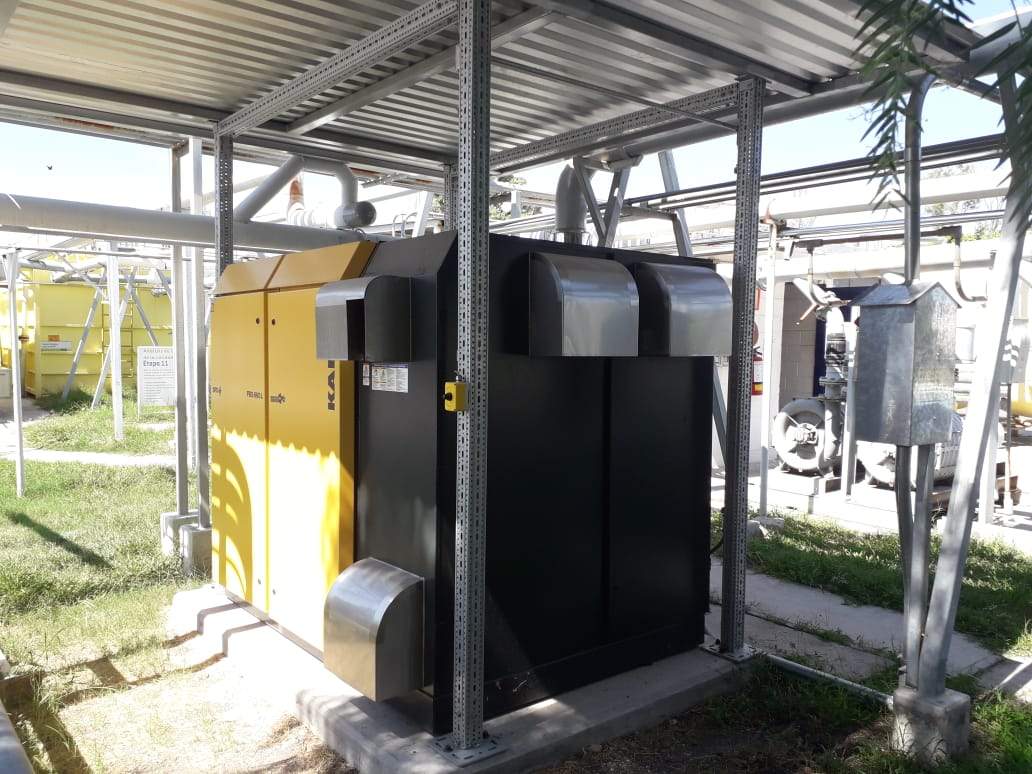 HPC KAESER air compressor for wastewater treatment plants