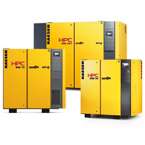 Rotary Screw Compressors with Fluid Cooling - 2.2 to 515kW